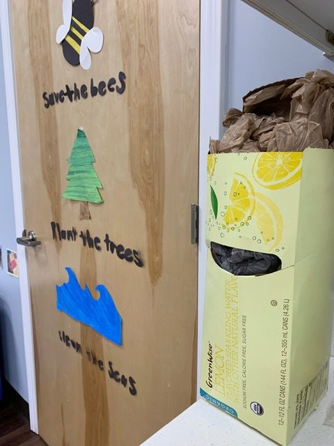 Recycling grocery bags
